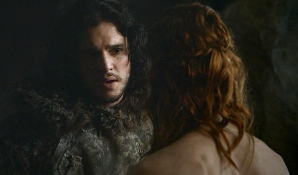 Jon Snow and redhead