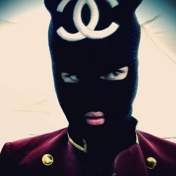 Justin bieber chanel mask