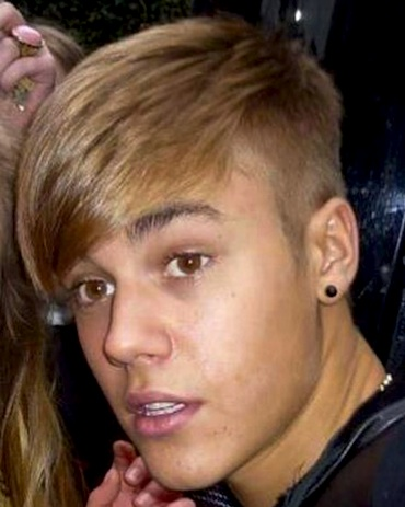 The Sun and Mirror Online called Justin Bieber's new side-shave ...