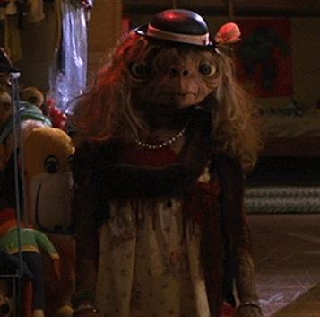 La Toya Jackson looks like ET