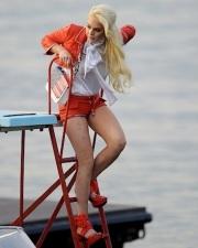 Lindsay Lohan Does A Philipp Plein Fashion Shoot