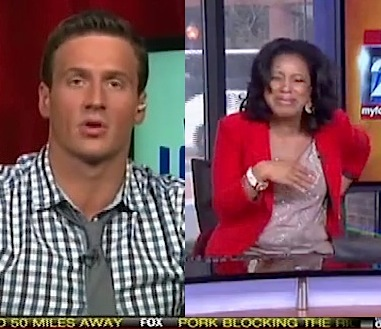 News laughing at Ryan Lochte