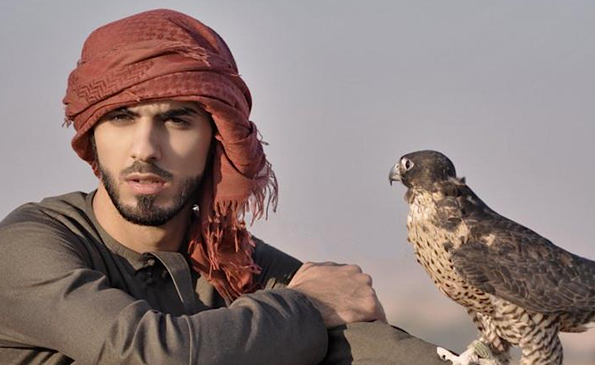 Omar Borkan Al Gala falcon