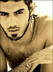 Omar Borkan Al Gala shirtless