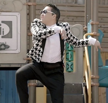 Psy horse dance