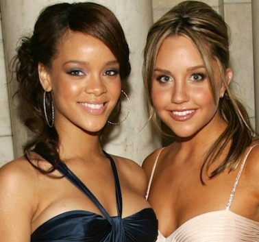 Amanda Bynes and Rihanna