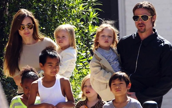 Angelina Jolie six kids
