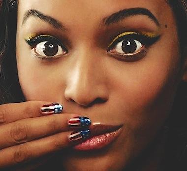 Beyonce surprise face