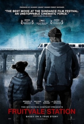 Fruitvale station painted poster