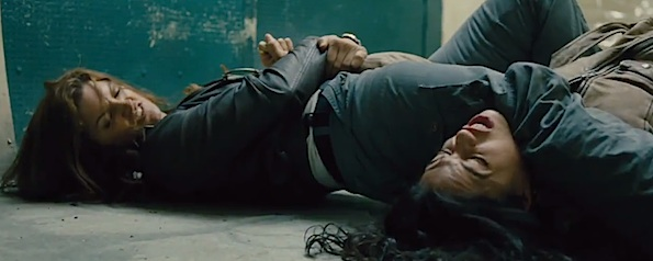 Gina Carano Michelle Rodriguez fight scene