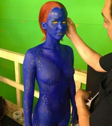 Jennifer Lawrence mystique new x men