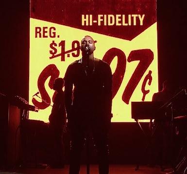 Kanye West SNL 2013