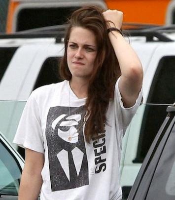 Kristen Stewart frustrated