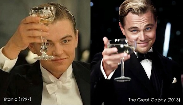 Leo toasting