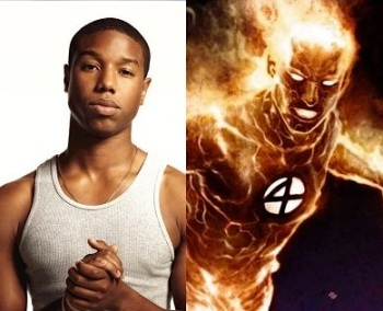Michael Jordan human torch