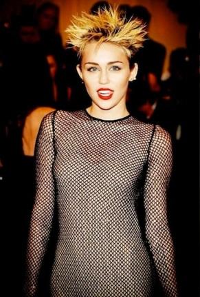 Miley Cyrus Met Gala 2012
