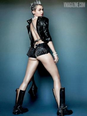 miley Cyrus v magazine 2013