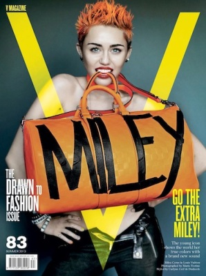 Miley Cyrus V magazine cover 2013