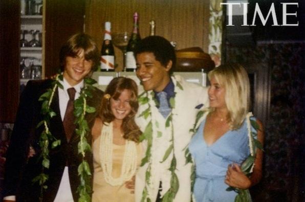 Obama prom picture