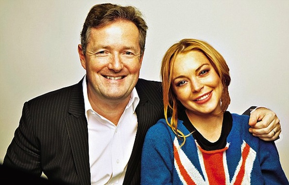 Piers Morgan Lindsay Lohan