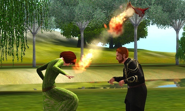 The sims dragon valley