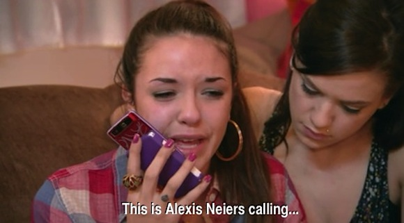 This is Alexis Neiers calling