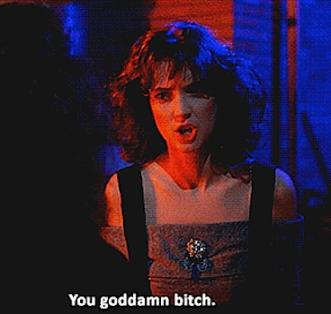 Winona Ryder yelling 2