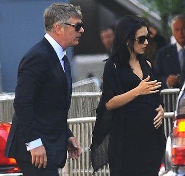 Alec Baldwin wife funeral