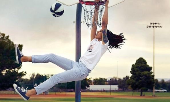Brittney Griner dunking espn
