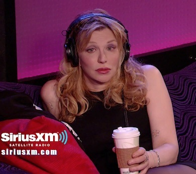 Courtney Love Howard Stern 2013