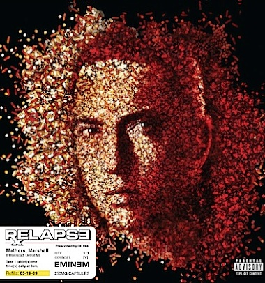 Eminem face in pills