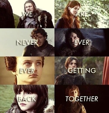 game of thrones we are never ever getting back together