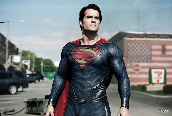 Henry Cavill superman costume