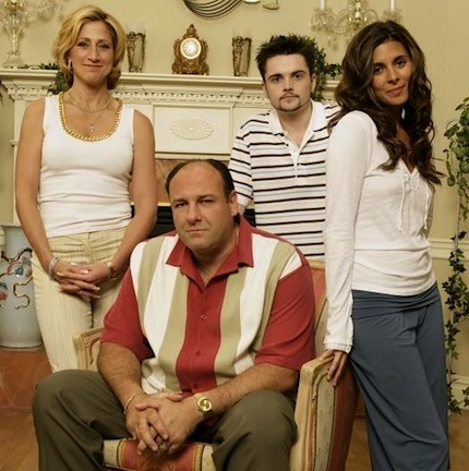 James Gandolfini sopranos family