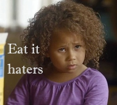 little girl from the cheerios commercial
