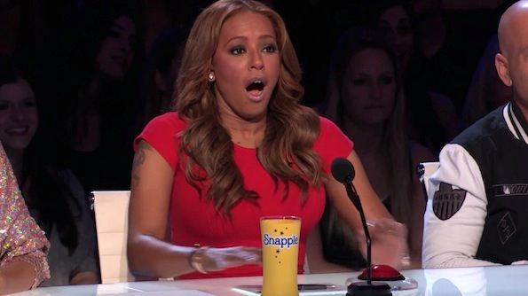 Mel B scared America's got talent
