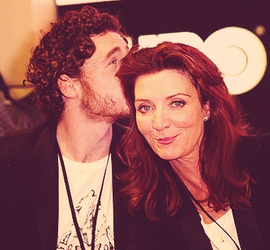 Richard Madden Michelle Fairley kiss