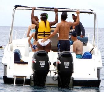 Serena wiliams butt boat