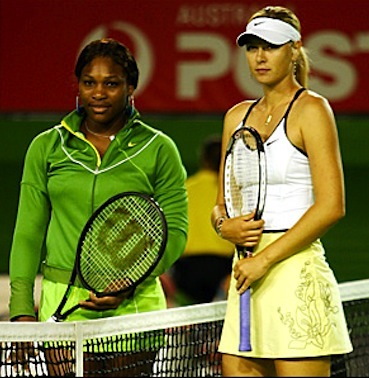 Serena Williams Maria Sharpova rivalry