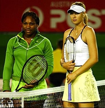 Serena Williams Maria Sharpova rivalry