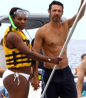 Serena williams patrick Mouratoglou boat