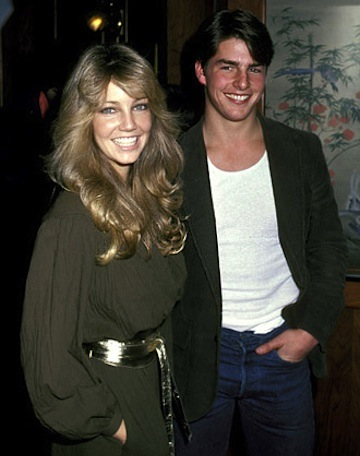 Tom Cruise Heather Locklear 80s