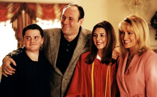 tony soprano family