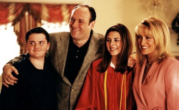 tony soprano family