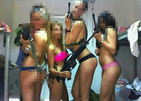 Somebody and their friends looked at promotional photos of Spring Breakers for a bit too long...