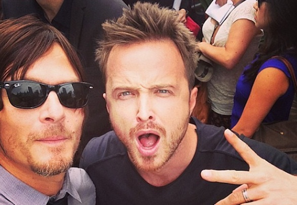 Aaron Paul Norman Reedus