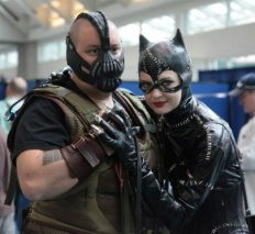 Bane and Catwoman