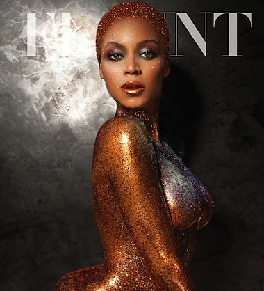 Beyonce photoshopped flaunt