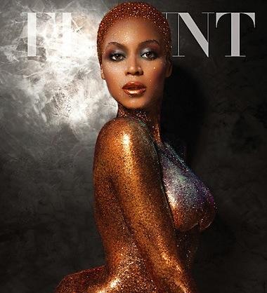 Beyonce photoshopped flaunt