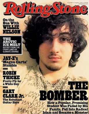 Boston bomber rolling stone